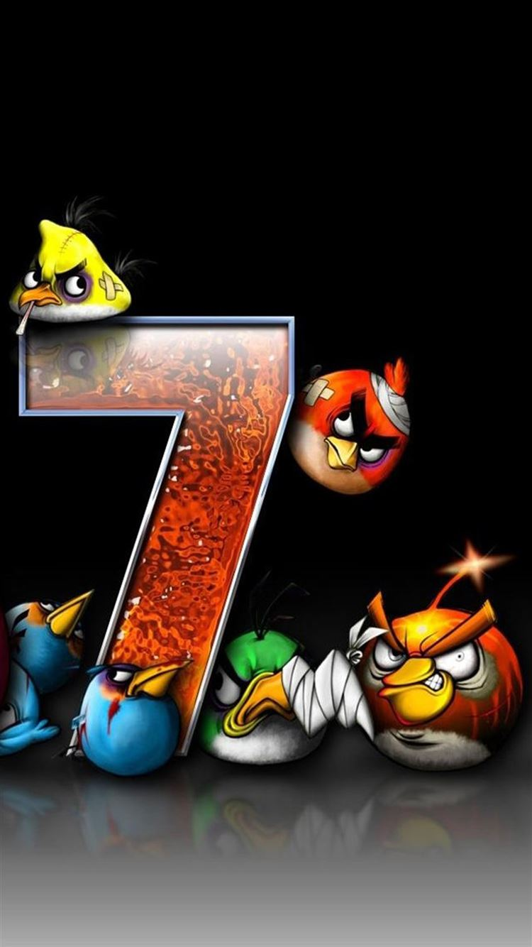 Angry Bird Game Iphone 8 Wallpaper Download Iphone Wallpapers