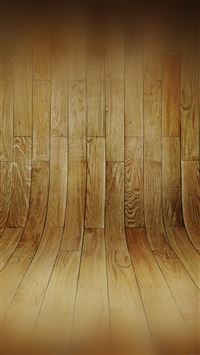 Curved 3D Wood Planks Texture iPhone 6(s)~8(s) wallpaper