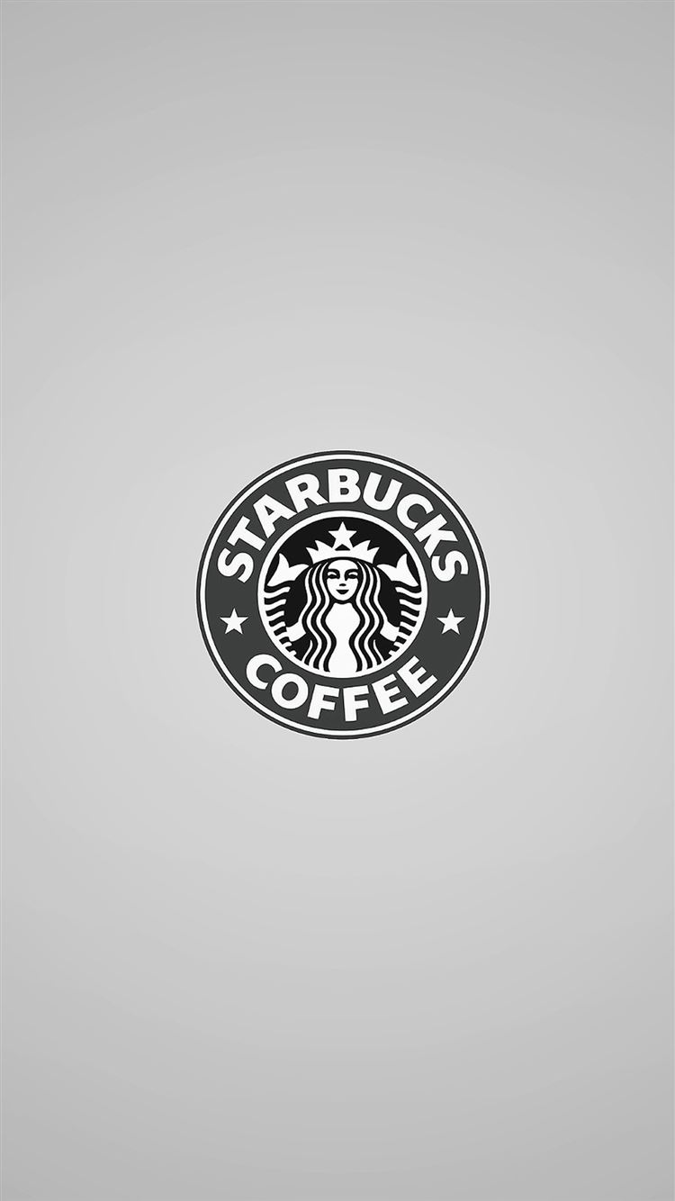 Simple Starbucks Coffee Logo Iphone 8 Wallpapers Free Download