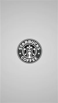 Simple Starbucks Coffee Logo iPhone 6(s)~8(s) wallpaper