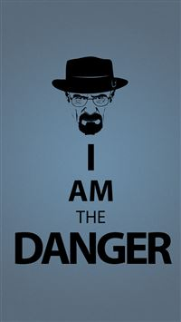 I Am The Danger iPhone 6(s)~8(s) wallpaper