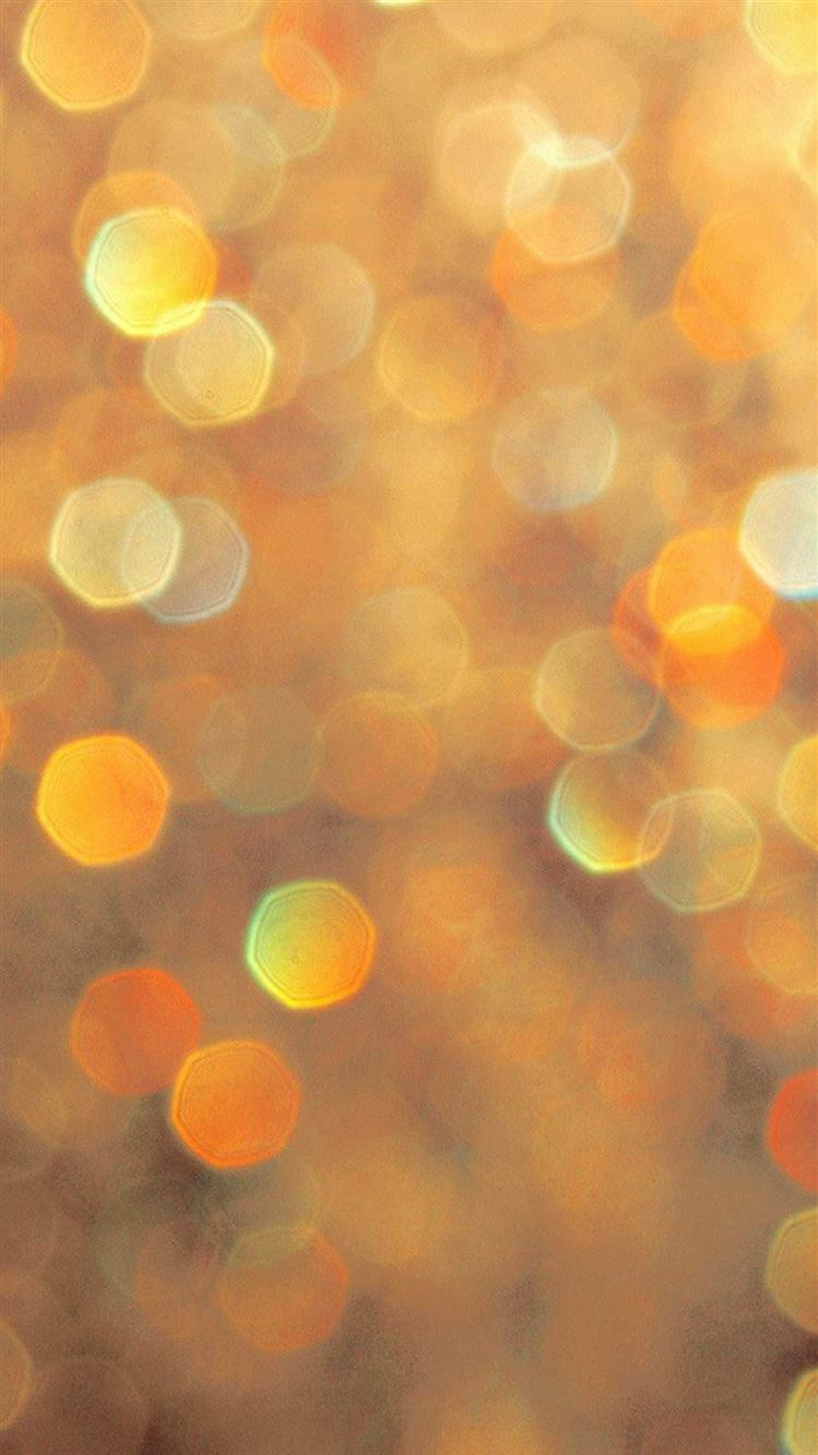 Orange Light Bokeh Pattern iphone 8 wallpaper ilikewallpaper com