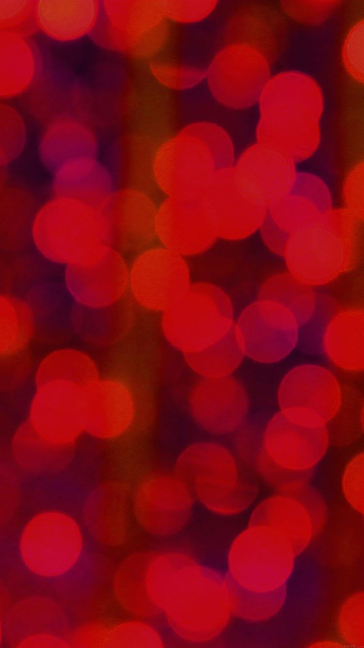 Red Bokeh Circle Abstract Pattern Iphone 8 Wallpaper Download