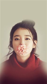 Kpop IU Singer Music Cute Girl Sexy iPhone 6(s)~8(s) wallpaper
