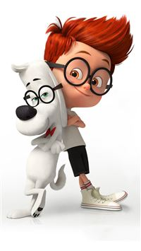 Mr. Peabody And Sherman Poster iPhone 6(s)~8(s) wallpaper