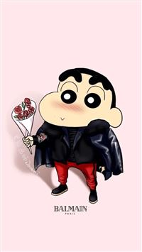 Crayon Shin chan Cute Cartoon iPhone 6(s)~8(s) wallpaper