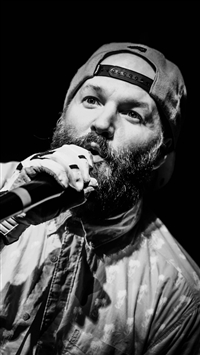 Fred Durst Limp Bizkit Music Rapcore Black And White iPhone 6(s)~8(s) wallpaper