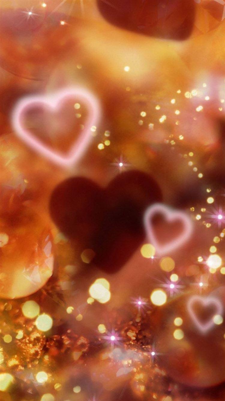 Shiny Love Sparkle Light Glitter Background iphone 8 wallpaper ilikewallpaper com
