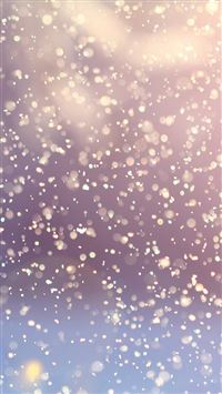 Bokeh Snow Flare Water Splash Pattern iPhone 6(s)~8(s) wallpaper