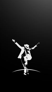 Michael Jackson Dancing Art iPhone 6(s)~8(s) wallpaper