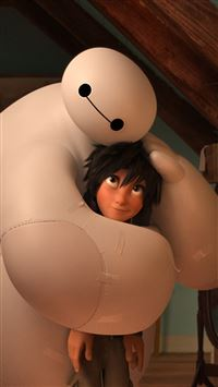 Big Hero 6 Baymax Warm Hug iPhone 6(s)~8(s) wallpaper