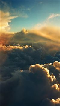 Grand Cloudy Skyview Landscape iPhone 6(s)~8(s) wallpaper
