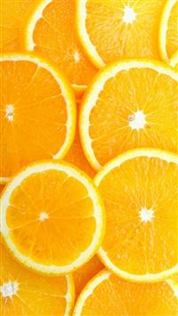 Fruit Orange Slice Overlap Background iPhone 6(s)~8(s) wallpaper