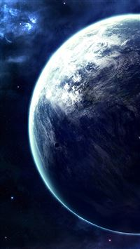Spectacular Outer Space Planet View iPhone 6(s)~8(s) wallpaper