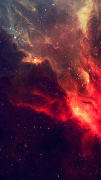 Wonderful Shiny Starry Nebula Cloudy Space iPhone 6(s)~8(s) wallpaper