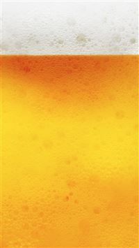 Abstract Golden Bubble Beer Liquid Pattern Background iPhone 6(s)~8(s) wallpaper