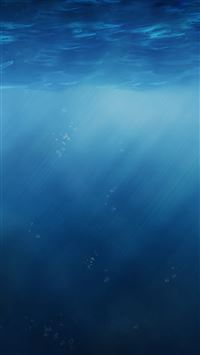Abstract Pure Simple Undersea Sunlight iPhone 6(s)~8(s) wallpaper