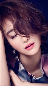 Ko Joon Hee Kpop Film Actress Closed Eyes iPhone 6(s)~8(s) wallpaper