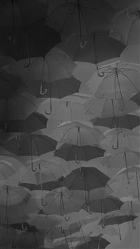 Umbrella Party Dark Pattern iPhone 6(s)~8(s) wallpaper