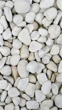 Beach White Pebble Rock Clitter Background iPhone 6(s)~8(s) wallpaper