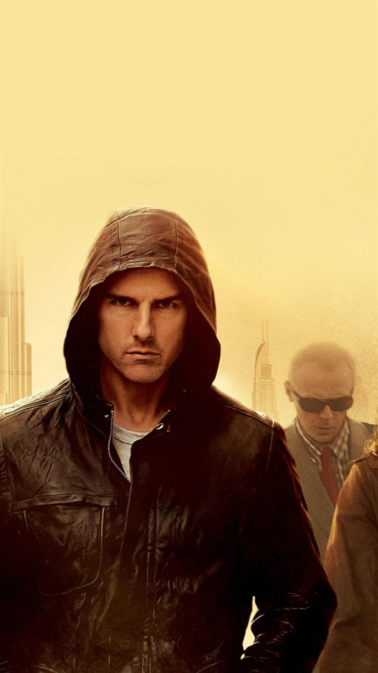 Mission Impossible Tom Cruise Film Art Yellow Iphone 8