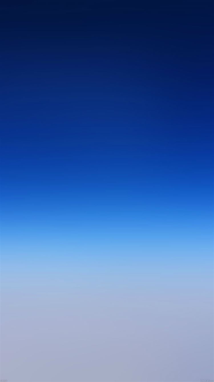 Abstract Pure Simple Blue Gradient Color Background Iphone 8