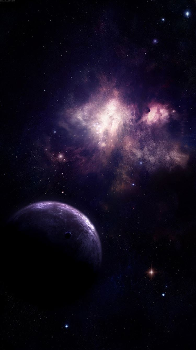 Universe Planet Nebula Shiny Outer SPace View iPhone 21 Wallpapers ...