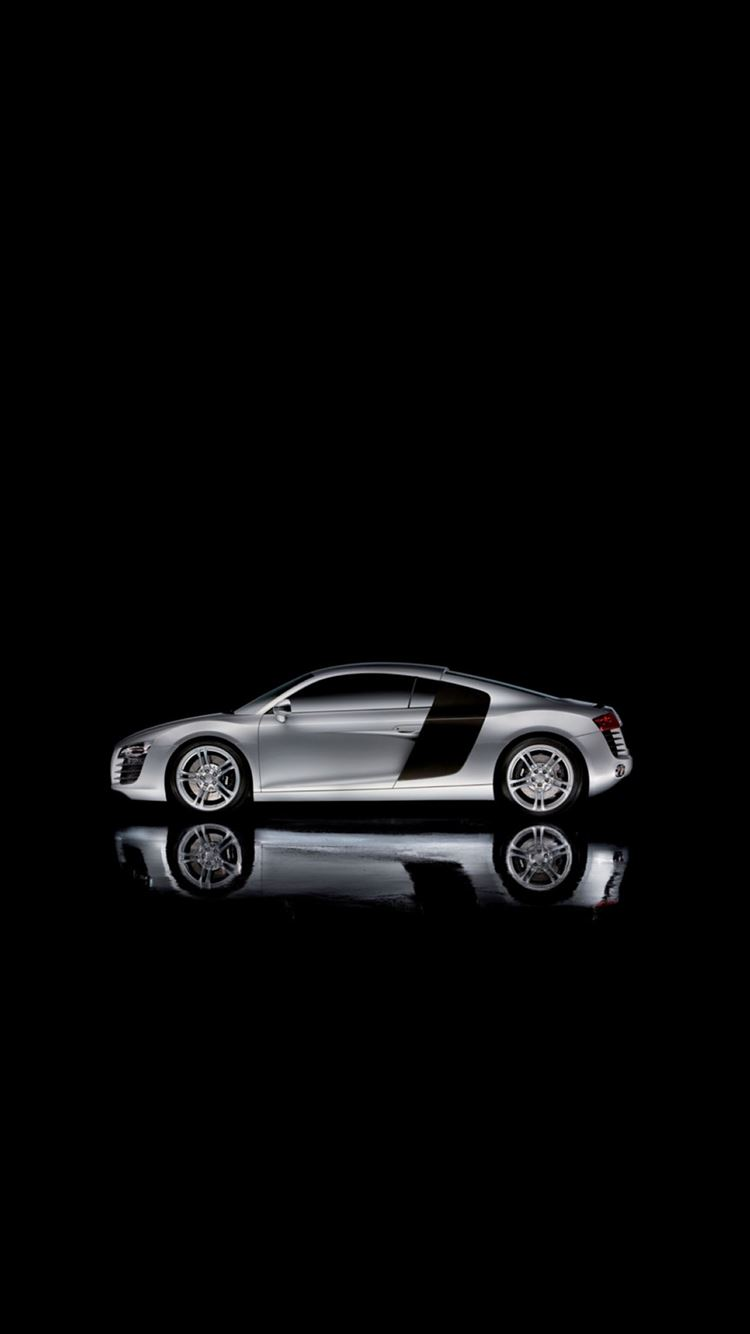 Audi R8 Dark Concept Car Iphone 8 Wallpapers Free Download