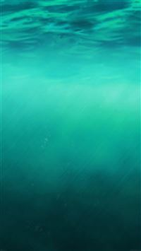 iOS8 Ocean Undersea Pure Clear Background iPhone 6(s)~8(s) wallpaper