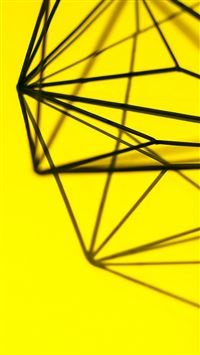 Simple Design Deco Yellow Pattern iPhone 6(s)~8(s) wallpaper
