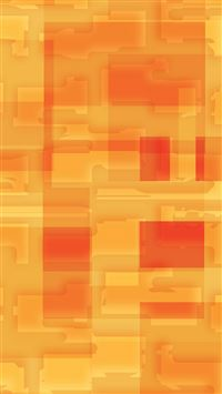 Square World Pattern Orange Yellow iPhone 6(s)~8(s) wallpaper