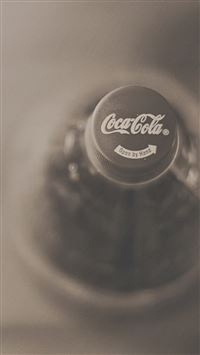 CocaCola Bottle Capsule Art iPhone 6(s)~8(s) wallpaper