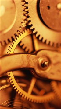 Scientific Mechanical Gear Macro iPhone 6(s)~8(s) wallpaper