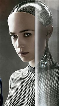 Ex Machina Ava Female Robot iPhone 6(s)~8(s) wallpaper