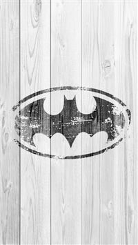 Abstract Bat Logo Wooden Wall Pattern iPhone 6(s)~8(s) wallpaper