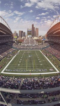 Seahawks Seattle Sports Stadium Football iPhone 6(s)~8(s) wallpaper