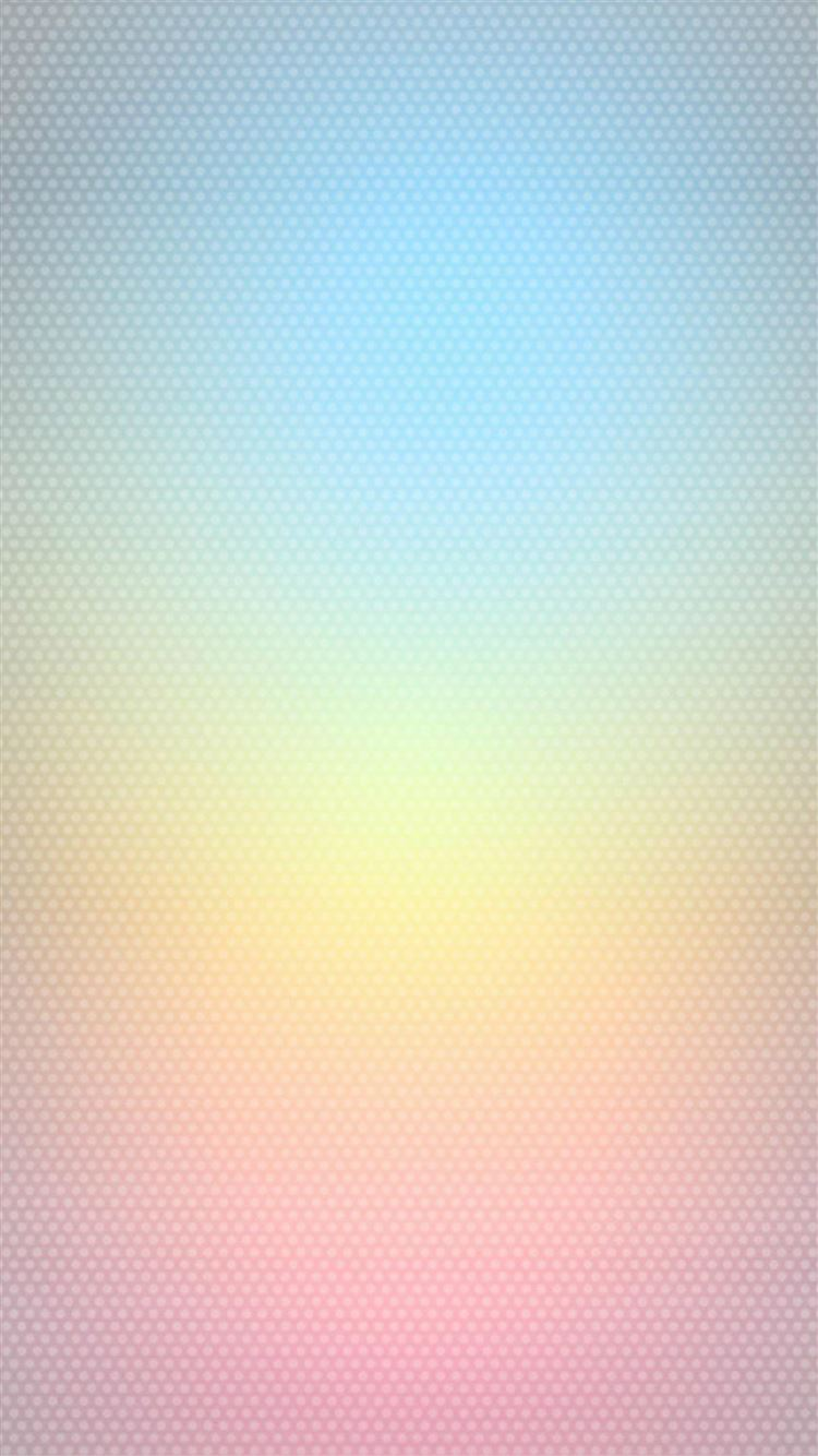 Pure Clear Shiny Color Gradation Cube Pattern Iphone 8