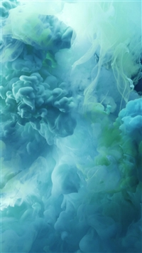 Cloudy Ink Smoke Paint Art iPhone 6(s)~8(s) wallpaper