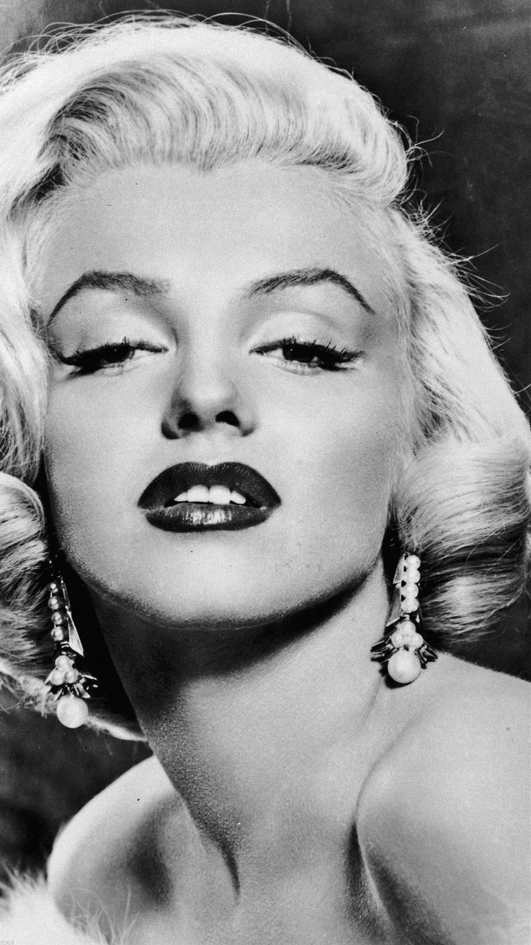 Marilyn Monroe Sexy Classic Face Portrait Iphone 8 Wallpapers Free