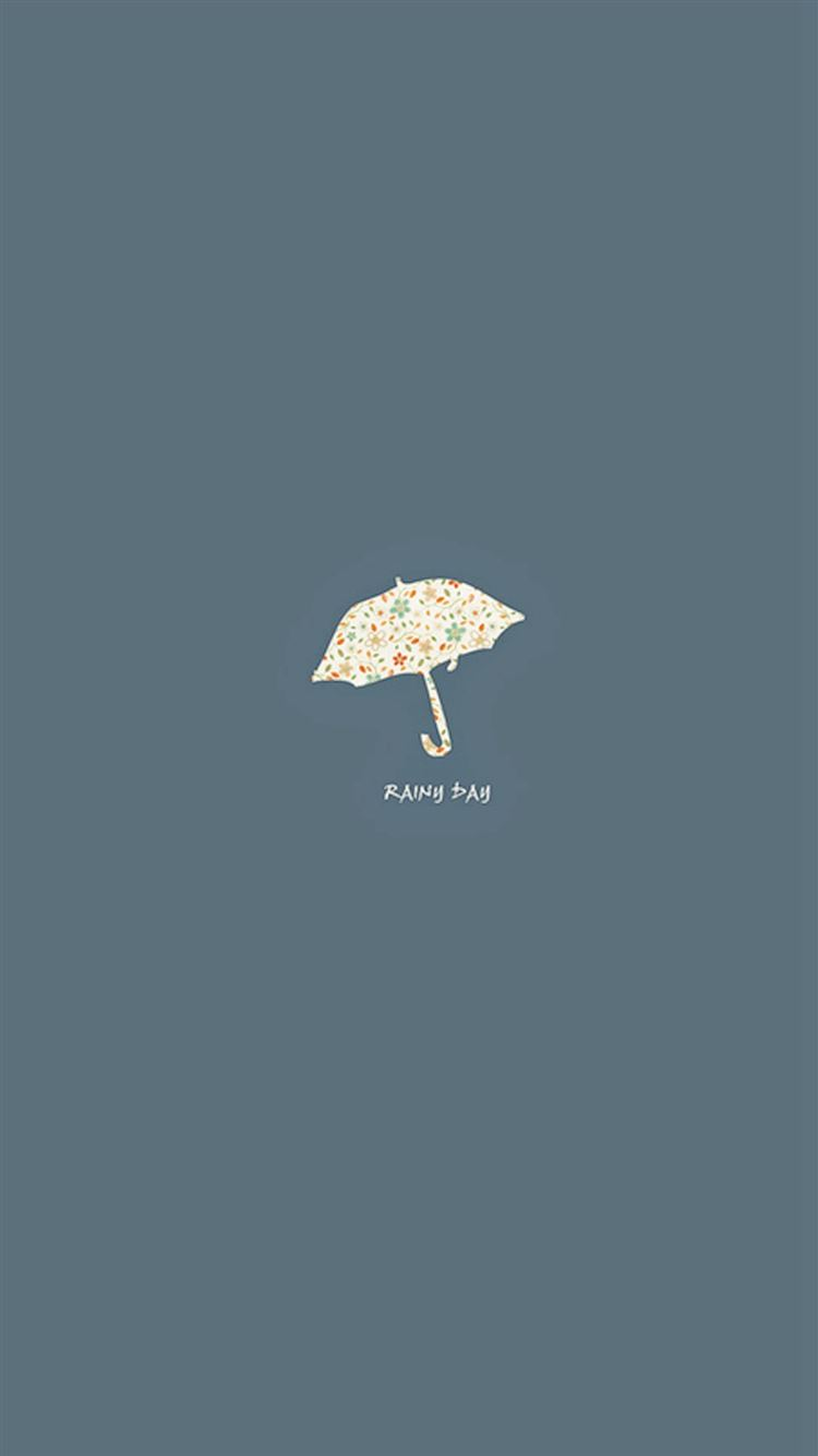 Rainy Day Simple Minimal iPhone 21 Wallpapers Free Download