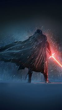 Darth Vader Starwars 7 Poster Film Art iPhone 6(s)~8(s) wallpaper