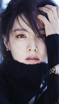Kpop Star Lee Youngae Beauty Film Photography iPhone 6(s)~8(s) wallpaper