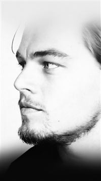 Leonardo Dicaprio Face Film Star iPhone 6(s)~8(s) wallpaper