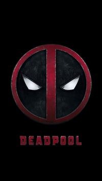 Deadpool Logo Dark Art Hero iPhone 6(s)~8(s) wallpaper