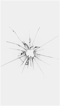 Apple Logo Window White Broken iPhone 6(s)~8(s) wallpaper