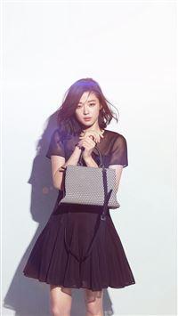 Jun Ji Hyun Actress Kpop Cute Beauty Blue Flare iPhone 6 wallpaper