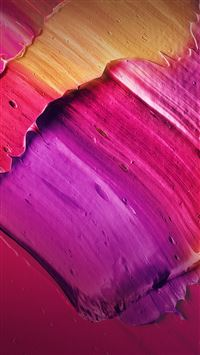 Paint Red Purple Art Pattern iPhone 6(s)~8(s) wallpaper