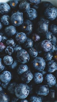 Blue Berry Healthy Fruit Eat Food Nature iPhone 6(s)~8(s) wallpaper