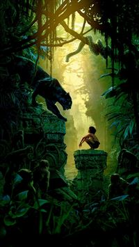 Art Film Nature Junglebook Animal iPhone 6(s)~8(s) wallpaper