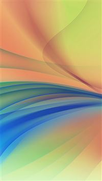 Line Art Abstract Yellow Smoke Pattern iPhone 6(s)~8(s) wallpaper